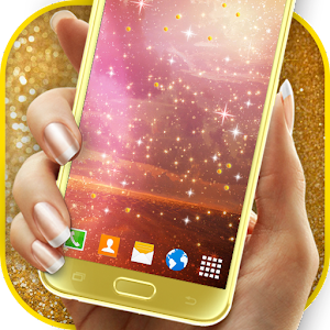 Sparkling Glitter Wallpaper Icon