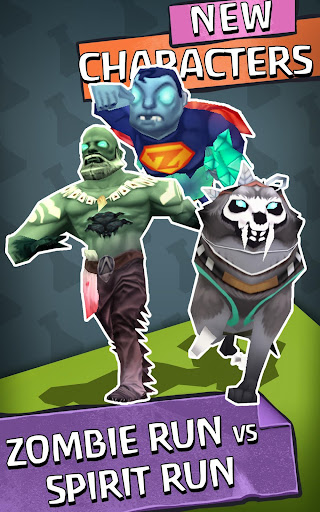 Zombie Run HD - screenshot
