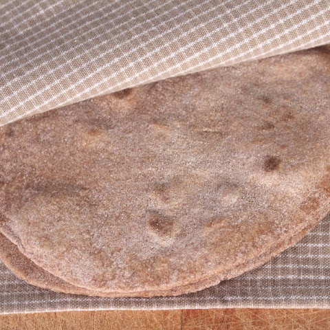 Homemade 100% Whole Wheat Flour Tortillas