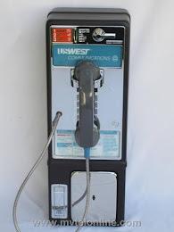 Single Slot Payphones - NOS 1982 1D USWEST loc E-7 1