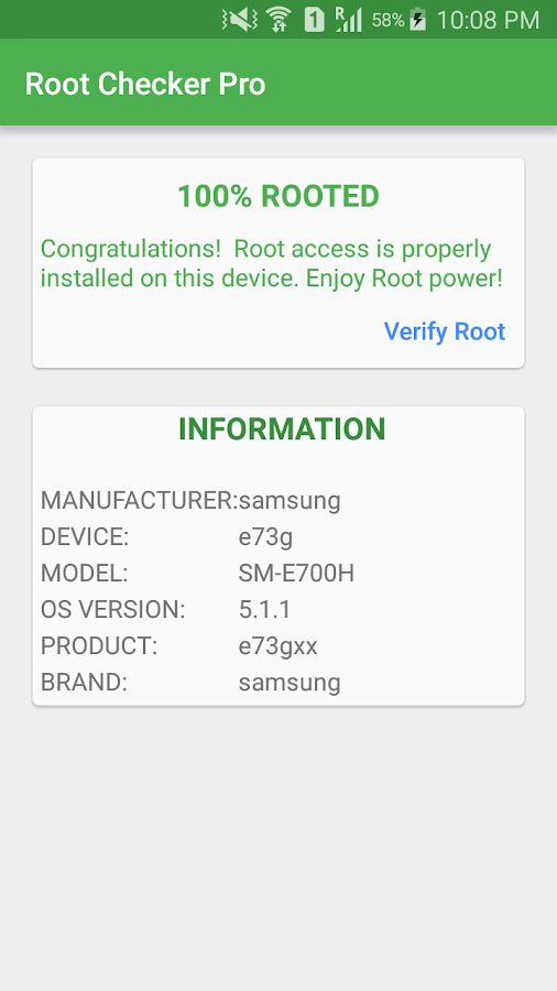 Root Checker Pro Screenshot 0