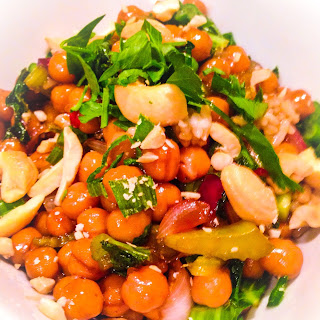 Chickpea Kung Pao