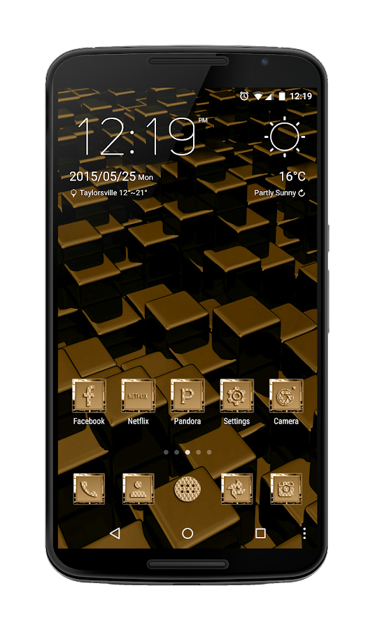 24K Icon Pack Screenshot 1