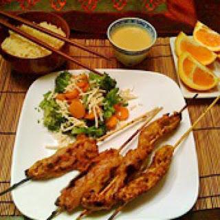 Vegetarian Peanut Satay Recipes