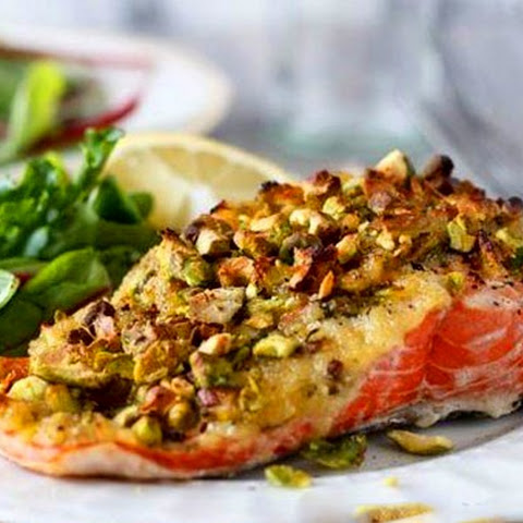 Salmon With Pistachios