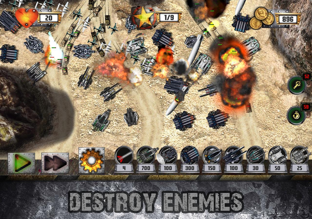 Tower Defense: Tank WAR Screenshot 1