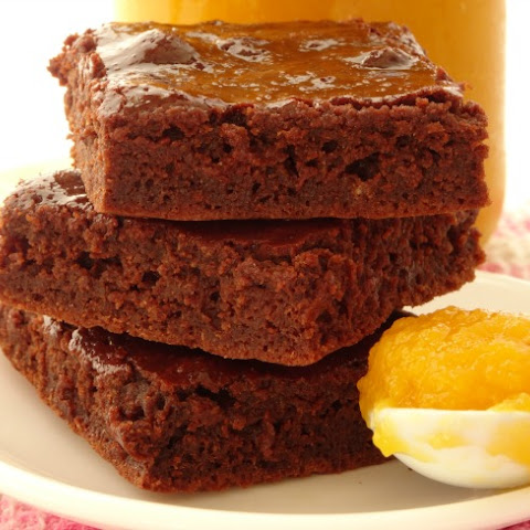 One-Bowl Healthy Pumpkin Brownies