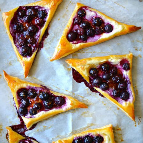 Blueberry Cream Cheese Pastries