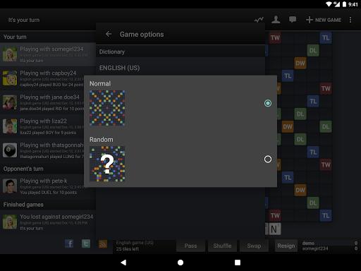 Wordfeud FREE screenshot 13