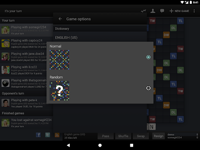 Free Wordfeud FREE APK for Windows 8