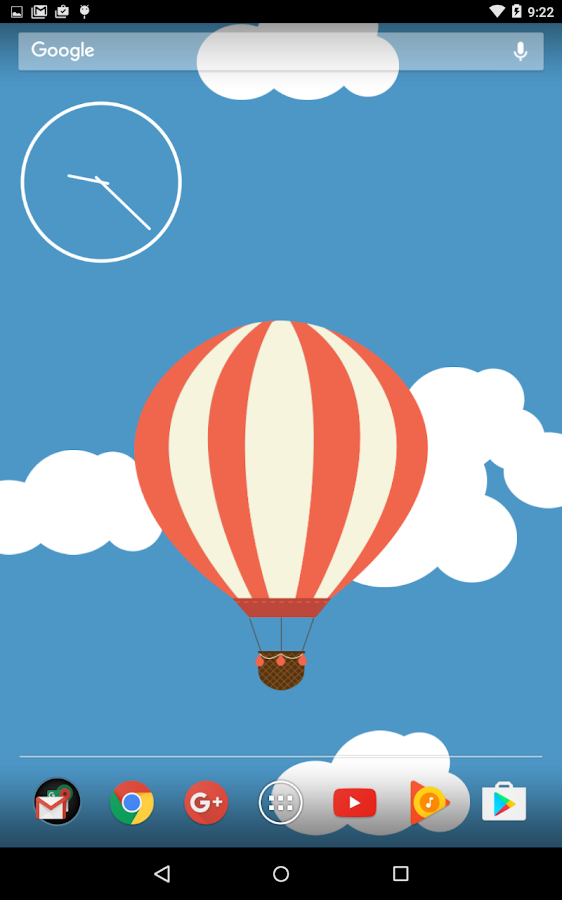 Relax Ballon Live Wallpaper Screenshot 1