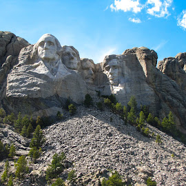 Rushmore by Kevin Wickersham - Landscapes Travel ( presidents, mountain, mount, presedential, rushmore )