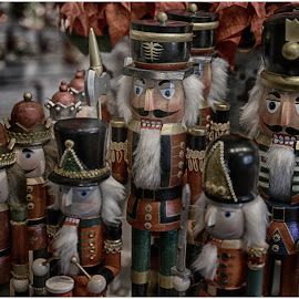 Nutcrackers  by Lorraine D.  Heaney - Public Holidays Christmas