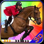 Horse Riding Hill Climb 3d Icon