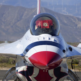 Thunderbird Close-Up by Mike Martinez - Novices Only Objects & Still Life