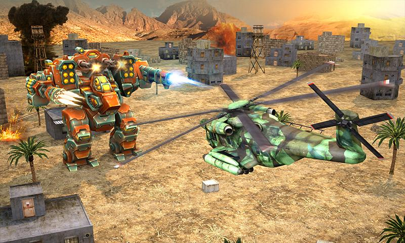 Copter vs Aliens Screenshot 0
