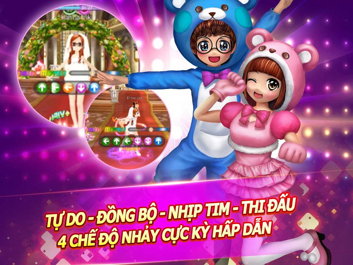 Super Dancer VN-AU Mobile 3D Screenshot 1