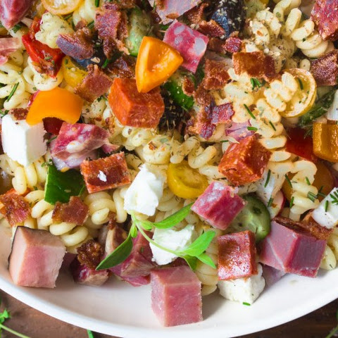 Meat Lover's Pasta Salad