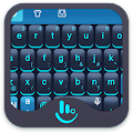 Blue Science Keyboard Theme