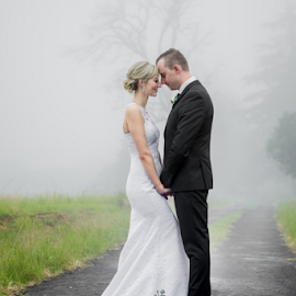 Mist by Lood Goosen (LWG Photo) - Wedding Bride & Groom ( wedding photography, wedding photographers, wedding day, brides, wedding photographer, bride and groom, bride, groom, misty, grooms, mist, bride groom )