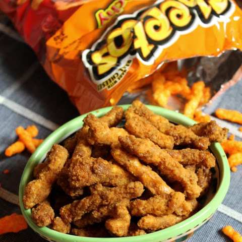 CARAMELIZED CHEETOS