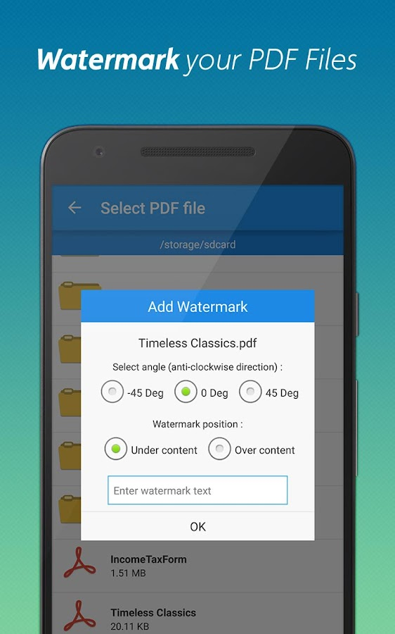 PDF Editor and PDF Converter Screenshot 5