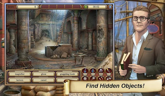 0 Hidden Object Time Crimes Case App screenshot