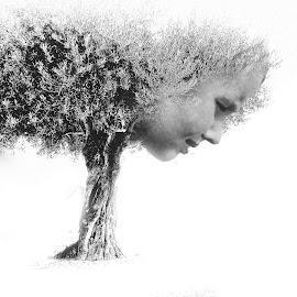 Mother nature by Ana Paula Filipe - Digital Art People ( digitl, mother, tree, one, art )