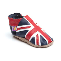 Starchild Union Jack PRAM SHOE