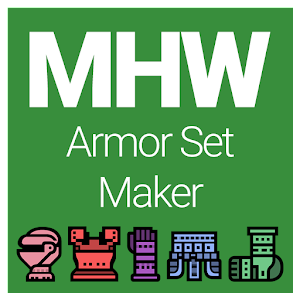 Armor Set Maker for Monster Hunter: World
