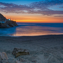 San Antonio's sunset view by Fico Stein Montagne - Landscapes Sunsets & Sunrises ( sunset, pacific ocean, sea, playa, ocean, mar, atardecer, beach, nikon d7000,  )