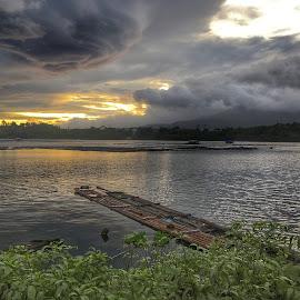 Sunrise by Maria Lourdes Josefina Piamonte - Novices Only Landscapes