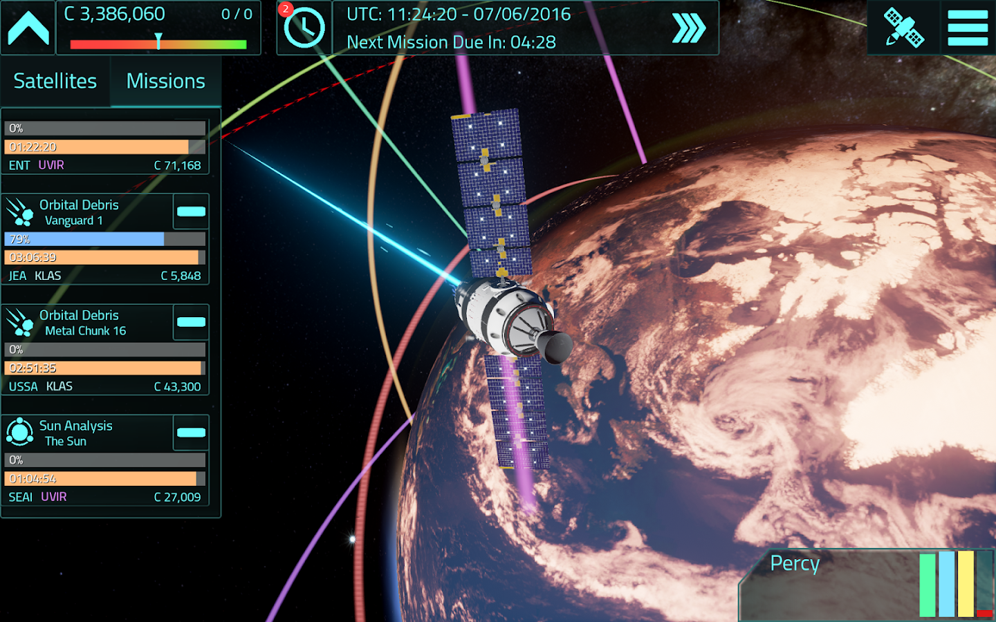 Satellite Command Screenshot 11