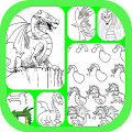 Download Learn To Draw Dragon APK on PC