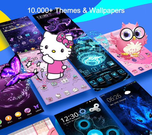 CM Launcher 3D  ThemewallpaperSecureEfficient For PC