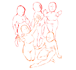 Group pose study