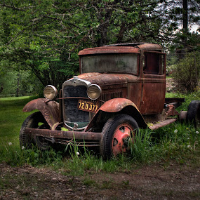 Model AA by Dennis McClintock - Transportation Automobiles ( whatcom county, washington state, model aa, ford, antique vehicle )