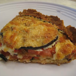 Baked Eggplant Quiche Recipes