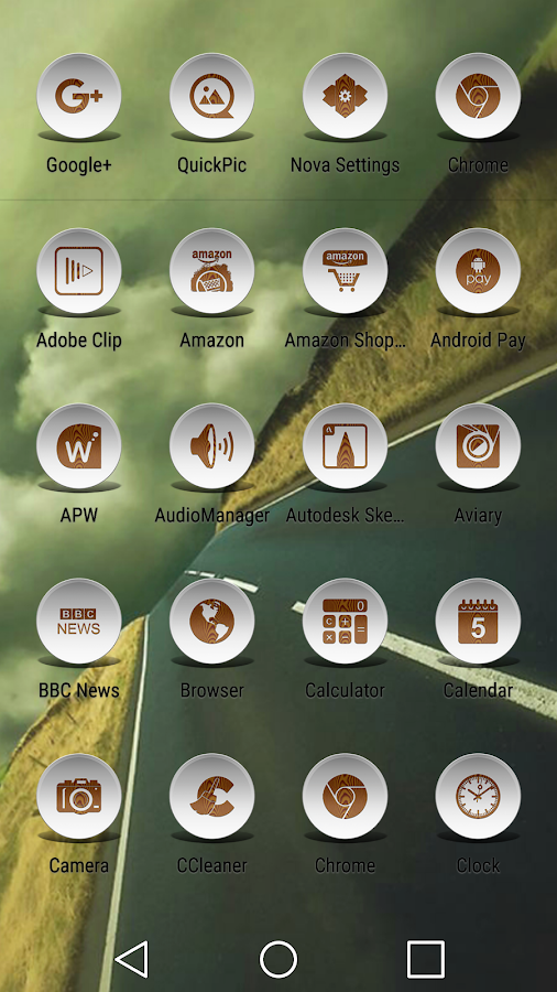 Daf White Wood - Icon Pack Screenshot 7