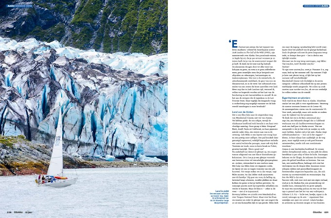 Sailing Glacier Bay National Park for Columbus Magazine