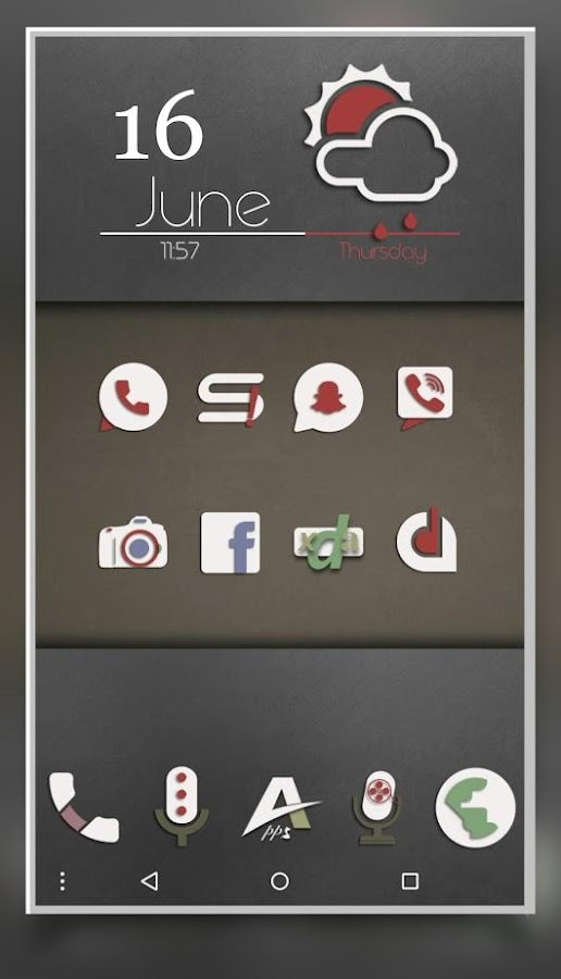 Adhira - Icon Pack Screenshot 10
