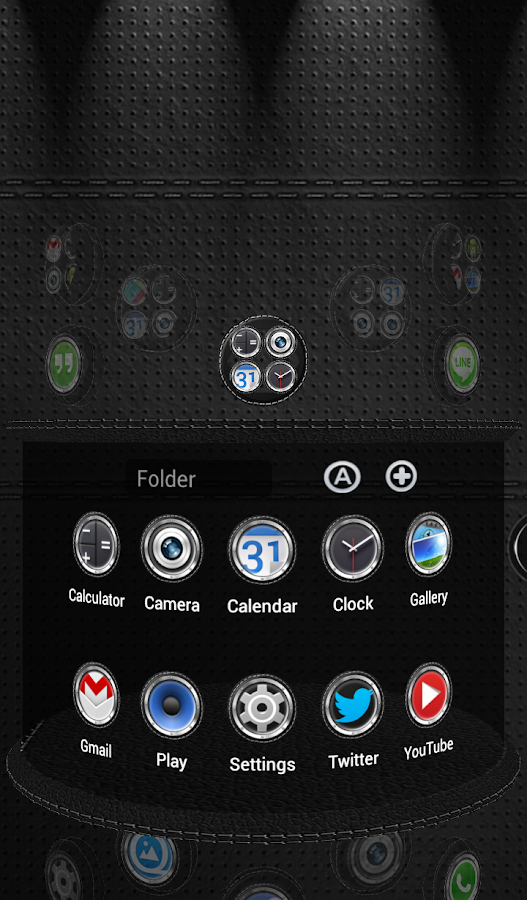 Next Launcher 3D Theme Bespoke Screenshot 6