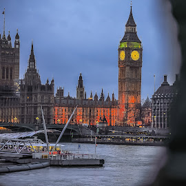 Big-Ben by Mihai Sirb - City,  Street & Park  Historic Districts ( holiday, london, big ben, photography )