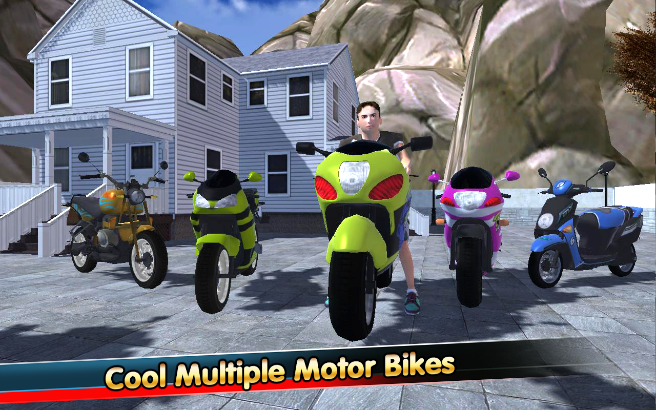 Modern Hill Climber Moto World Screenshot 0