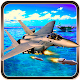 jet Attack At Warship