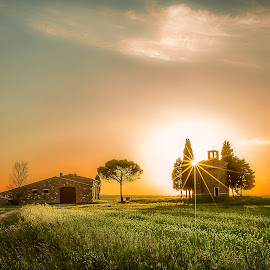 Small Church. by Pasquale Bimonte - Landscapes Sunsets & Sunrises