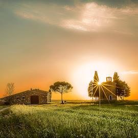 Small Church. by Pasquale Bimonte - Landscapes Sunsets & Sunrises