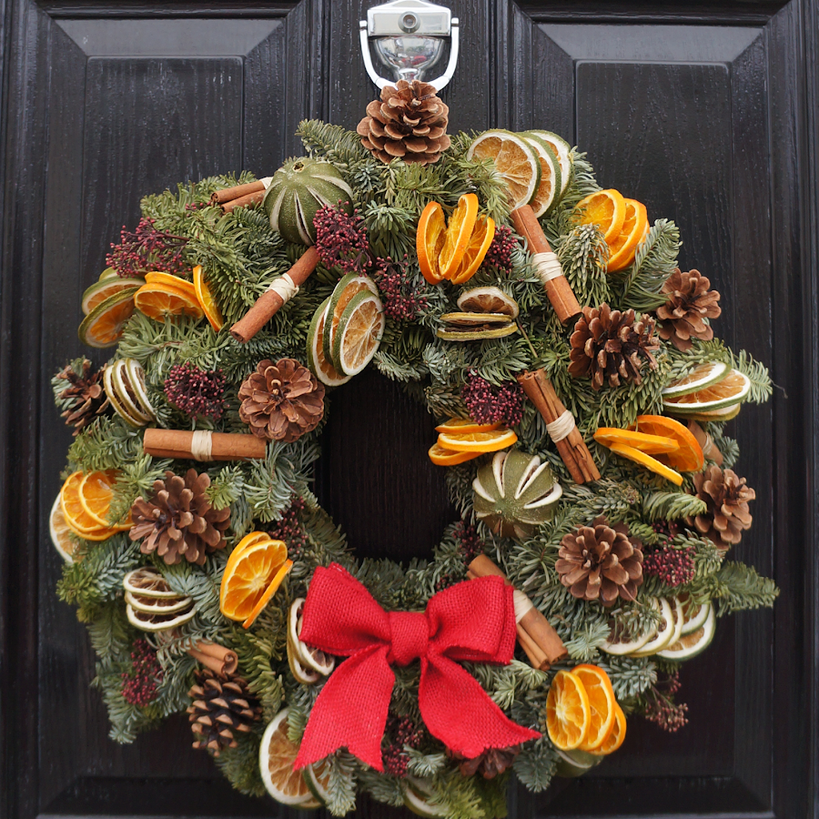 Traditional Wreath - The Florist Tunbridge Wells