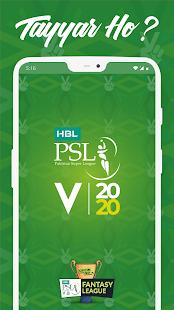 HBL PSL 2020 - Official Pakistan Super League App for pc