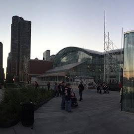 chicago skyline  by Ralph Gaudino - City,  Street & Park  Skylines